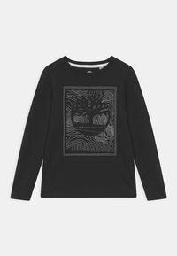 Timberland - LONG SLEEVE - Long sleeved top - black - 0