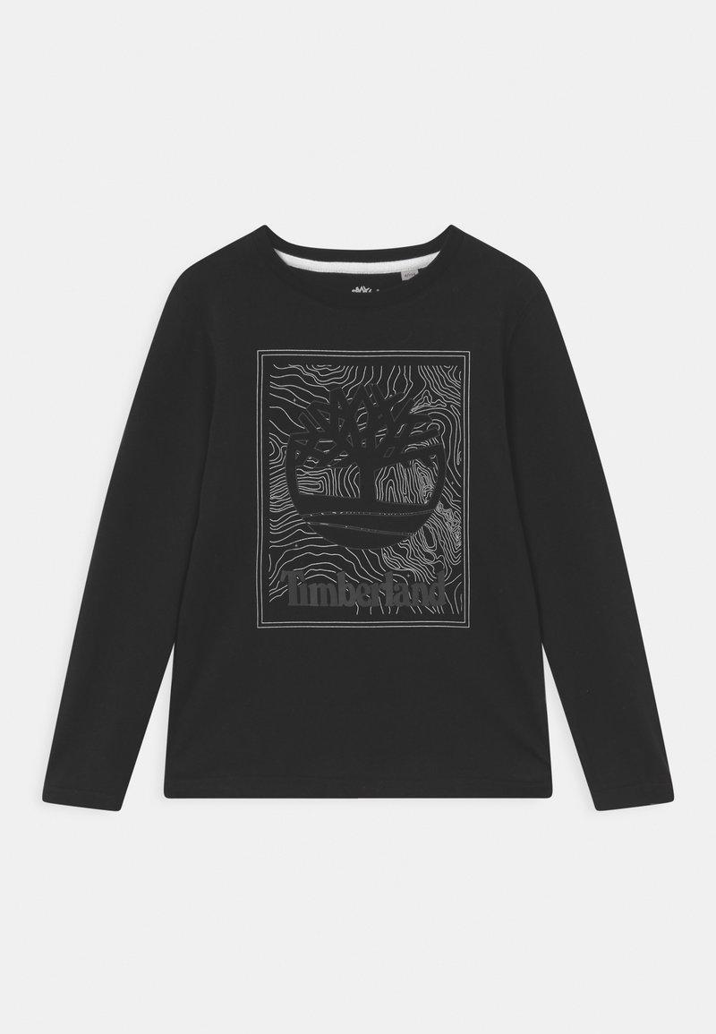 Timberland - LONG SLEEVE - Long sleeved top - black