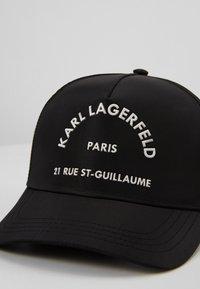 KARL LAGERFELD - RUE ST GUILLAUME  - Cap - black/white - 4