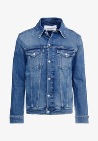 Calvin Klein Jeans - FOUNDATION SLIM JACKET - Denim jacket - mid blue - 3