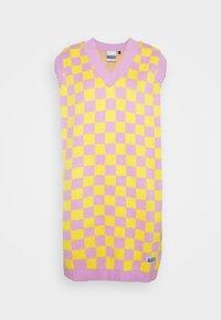 The Ragged Priest - VINYL DRESS - Jumper dress - yellow/lilac - 4