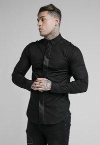 SIKSILK - Camicia - black - 0