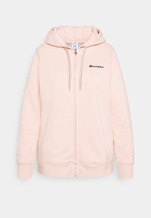 HOODED FULL ZIP - Zip-up sweatshirt - pink