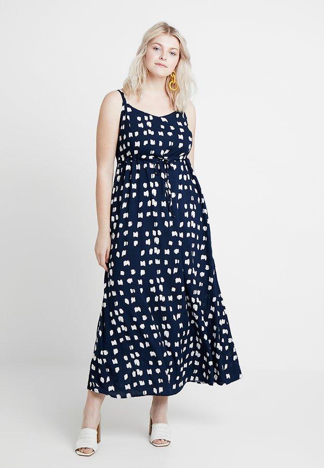 VVIGA STRAP DRESS LONG - Maxi dress - blue