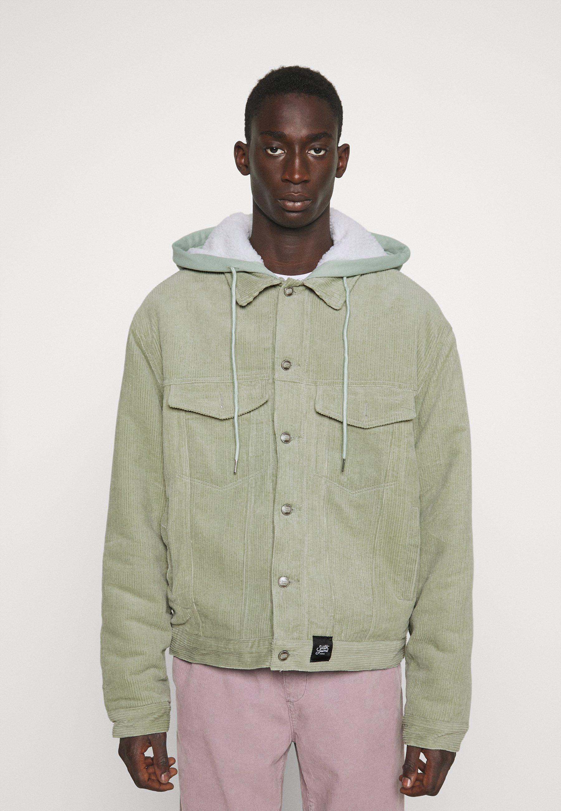 Men JACKET WITH HOOD - Light jacket