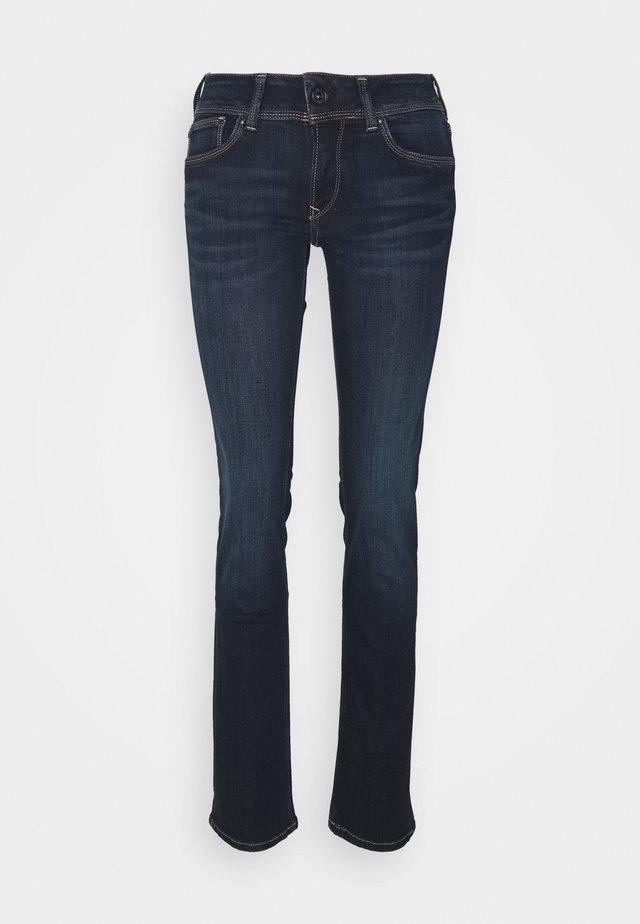 HOLLY - Jeans straight leg - dark-blue denim