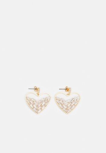 FGSOFIA EARRINGS - Earrings - gold-coloured/clear