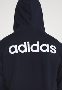 adidas Performance - ESSENTIALS SPORTS HOODED TRACK - Huvtröja med dragkedja - dark blue - 4