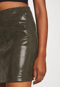 Molly Bracken - LADIES SKIRT - Mini skirt - khaki - 4
