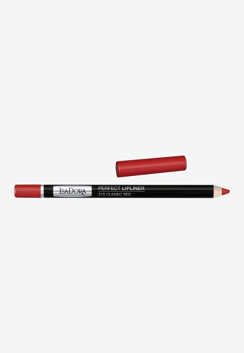 IsaDora - PERFECT LIPLINER - Lip liner - classic red