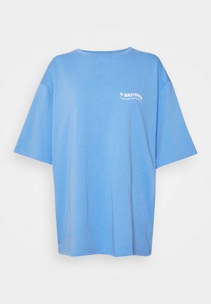 CIRCLE WOMEN - T-shirt med print - sea blue