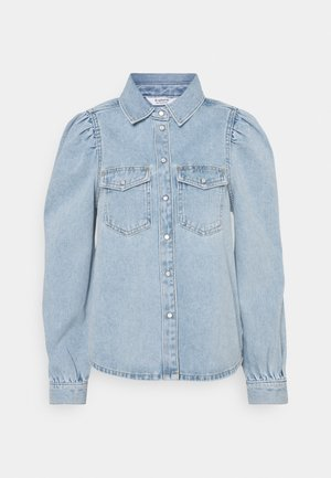 BYKEYLA  - Button-down blouse - ligth blue denim