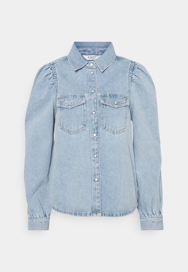 BYKEYLA  - Button-down blouse - ligth blue denim