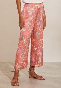 Spodnie materiałowe - pink dream