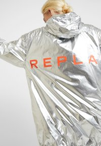 Replay - Short coat - sliver/orange - 6