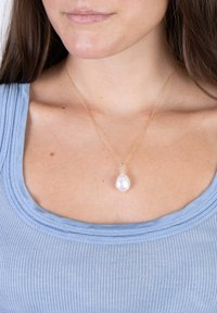 Nordahl Jewellery - MIT SÜSSWASSERPERLE  - Necklace - gold - 0