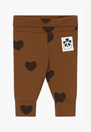 BABY HEARTS UNISEX - Leggings - Trousers - brown
