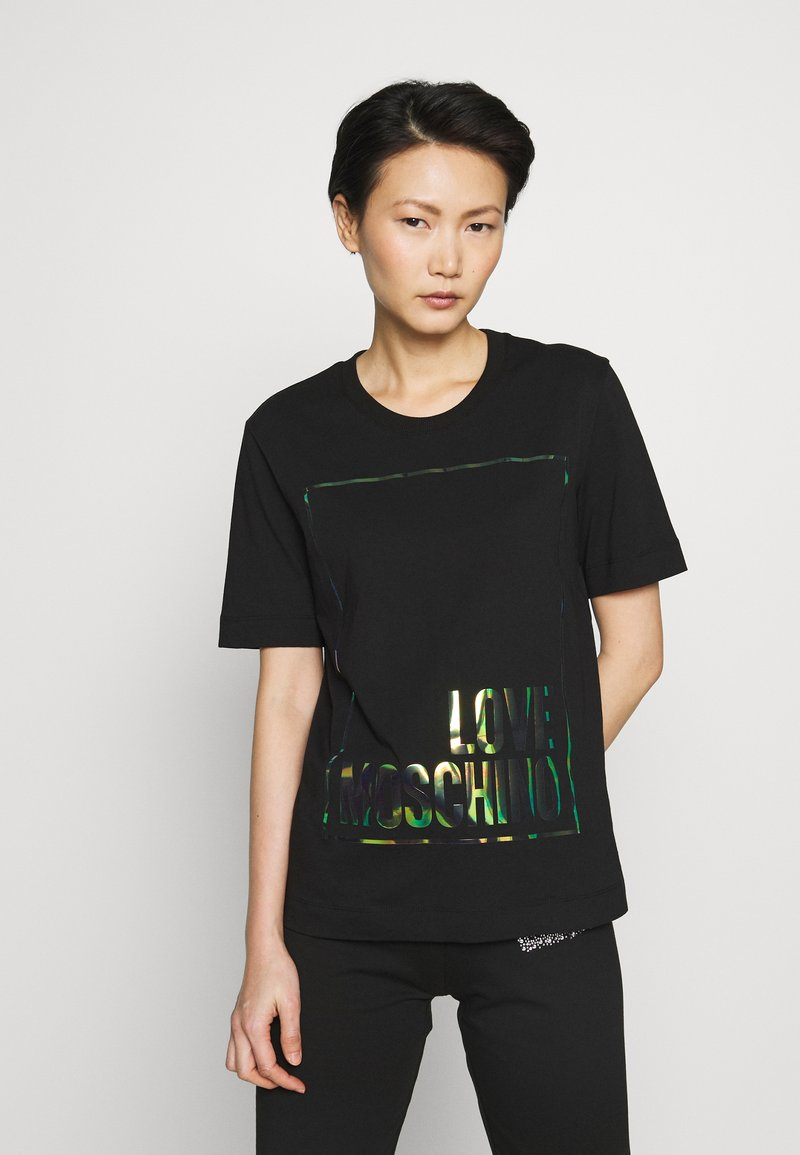Love Moschino - Printtipaita - black