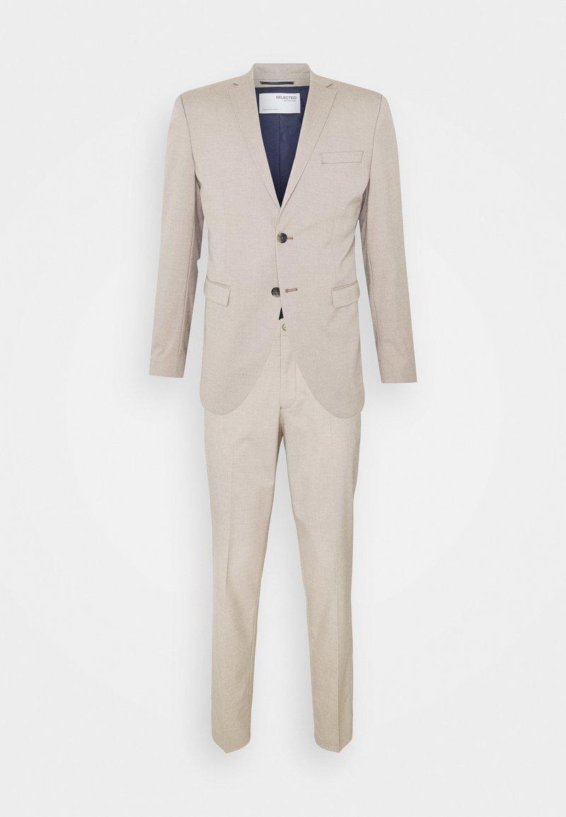 Selected Homme - SLHSLIM MYLOLOGAN SUIT - Suit - sand