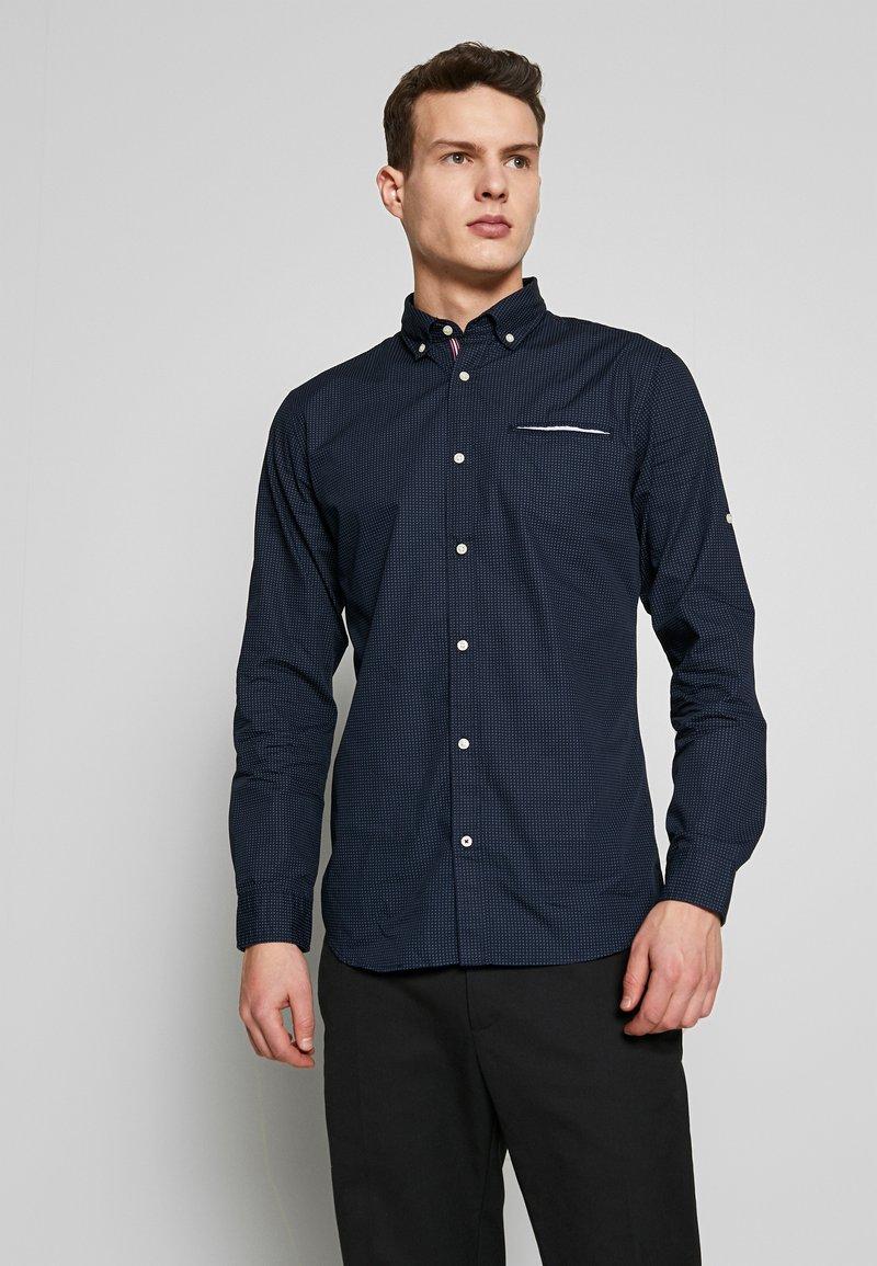 Jack & Jones - JETAPE DETAIL SLIM FIT - Košile - navy blazer