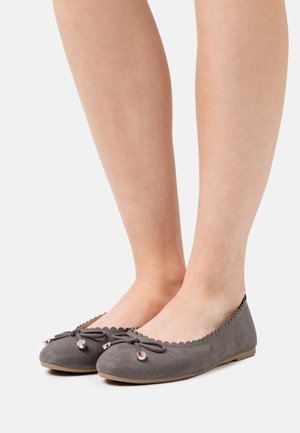 PEACE SCALLOP - Ballet pumps - grey
