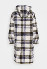 Marc O'Polo DENIM - CHECK COAT LONG - Classic coat - multi/pale beige - 1