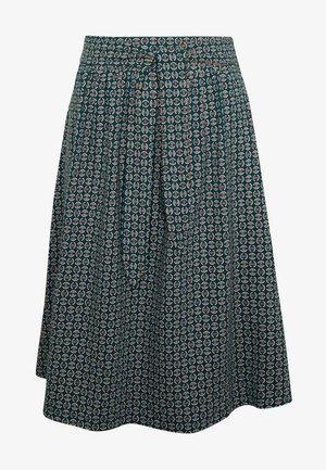 GAIL SKIRT BOURBON - A-line skirt - dragonfly green