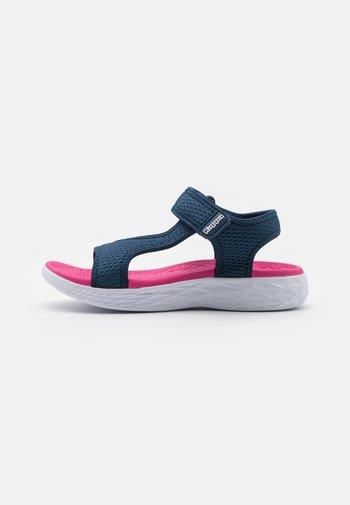 VEDITY II - Walking sandals - navy/pink