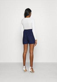 Vila - VIARAVANI - Shorts - navy blazer - 2
