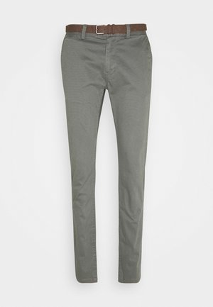 Trousers - grey navy