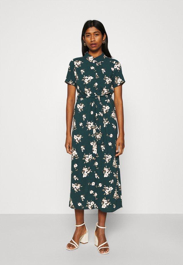 VMSIMPLY EASY LONG SHIRT DRESS - Paitamekko - ponderosa pine