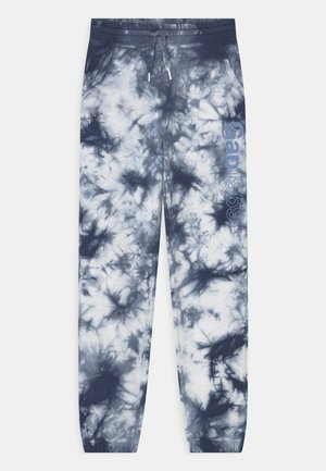 GIRL LOGO  - Tracksuit bottoms - blue