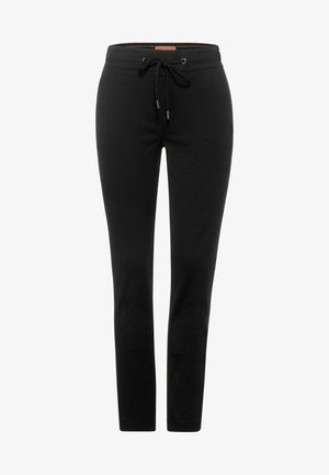 LOOSE FIT - Tracksuit bottoms - schwarz