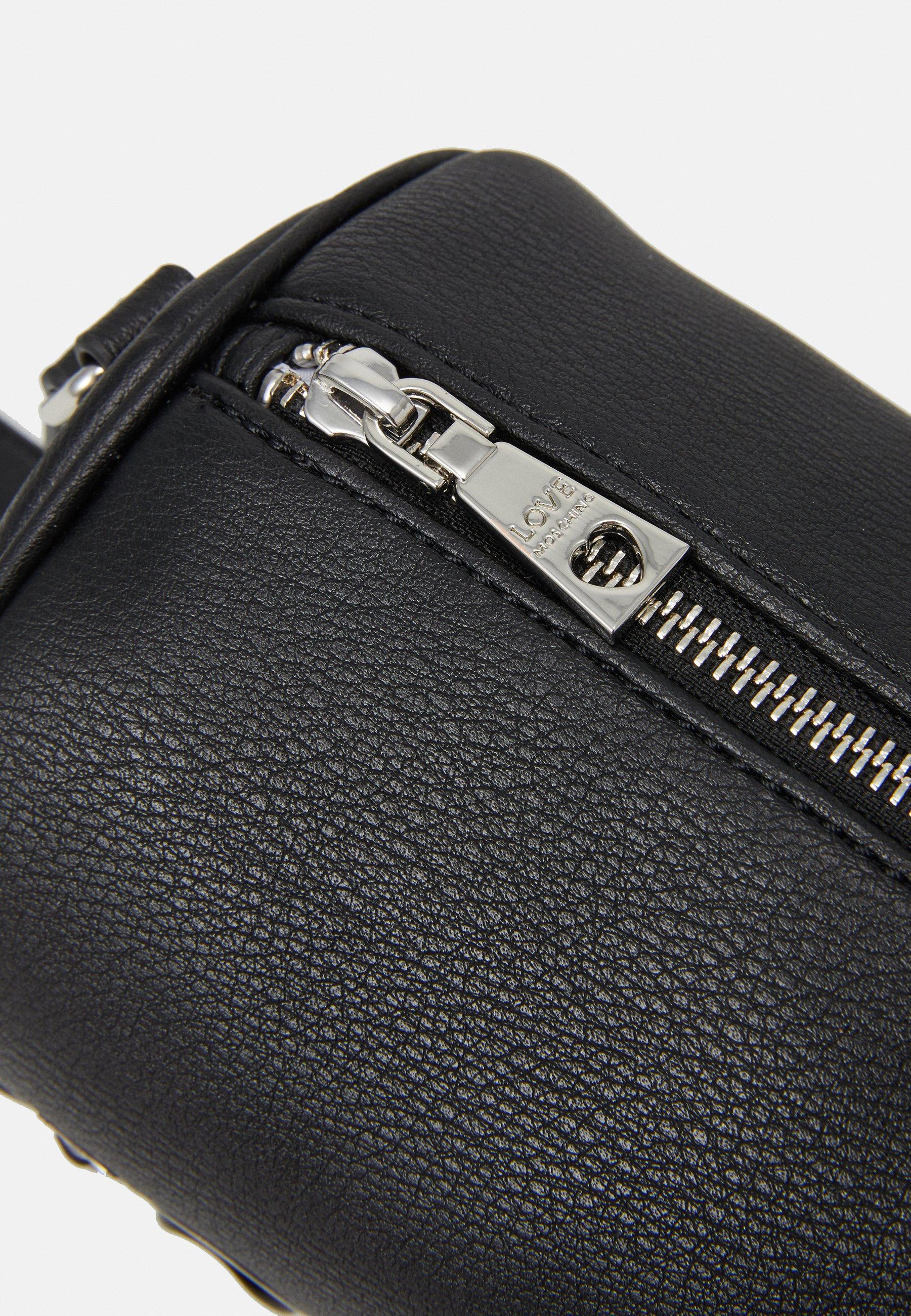 Love Moschino TAGS - Håndveske - black/svart 2qLikkHD7Bz2L9o