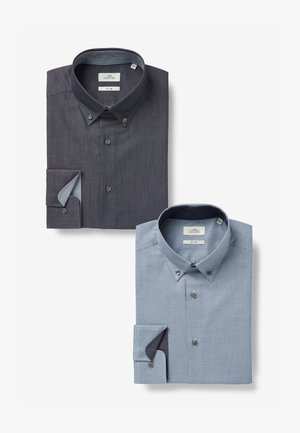TWO PACK - Formal shirt - blue
