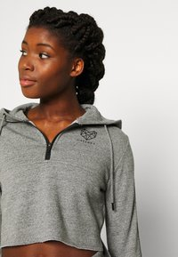 Pink Soda - BILLOW ZIP - Hoodie - mid grey grindle - 3