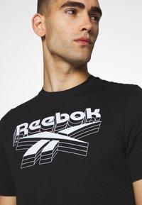 Reebok - TEE - T-shirts print - black - 5