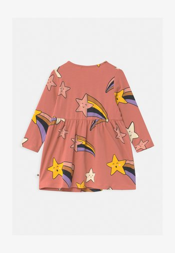 SHOOTING STARS - Jersey dress - dusty coral