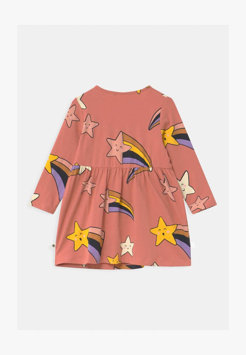 Lindex - SHOOTING STARS - Jersey dress - dusty coral