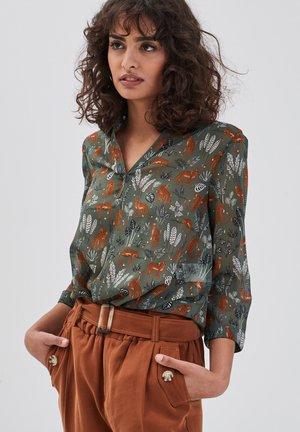 Blusa - vert khaki