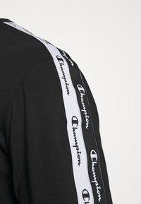 Champion - LONG SLEEVE CREWNECK - Top sdlouhým rukávem - black - 4