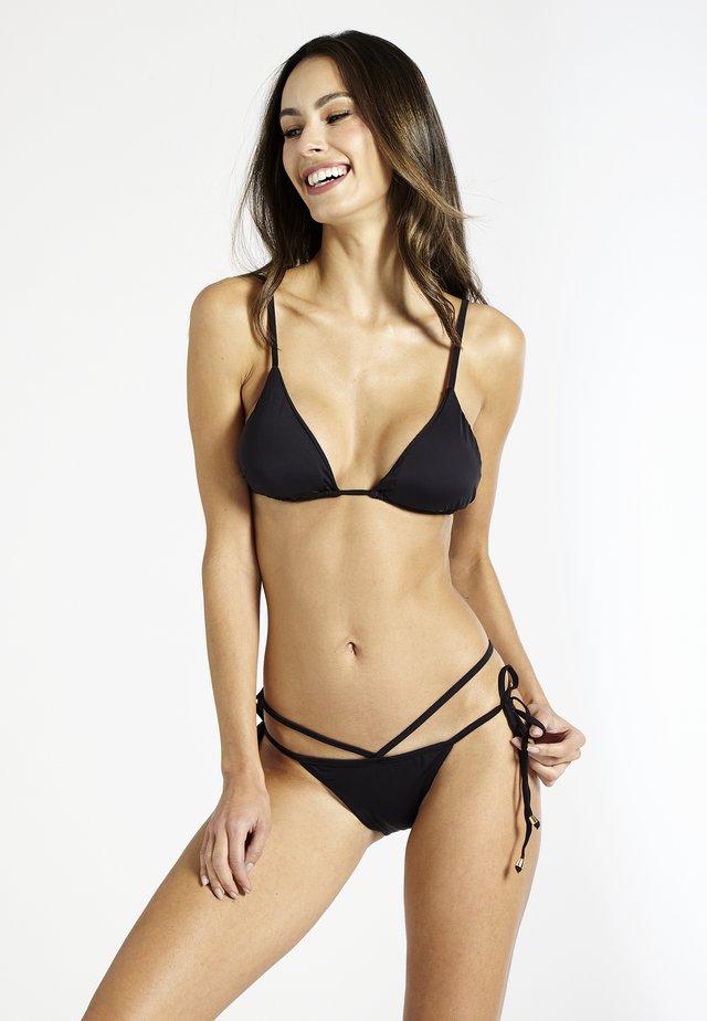 CAIPIRINHA TRIANGLE - Bikini pezzo sopra - black