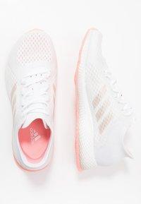 adidas Performance - FOCUS BREATHE IN - Obuwie do biegania treningowe - footwear white/glow pink - 1