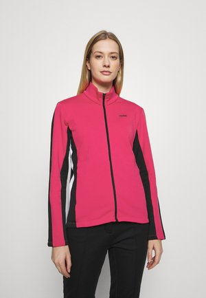 LADIES - Fleece jacket - frozen berry/black