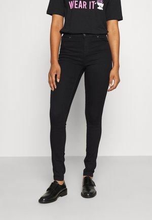 ONLIRIS MID ANK PUSHUP TALL - Jeans Skinny Fit - black