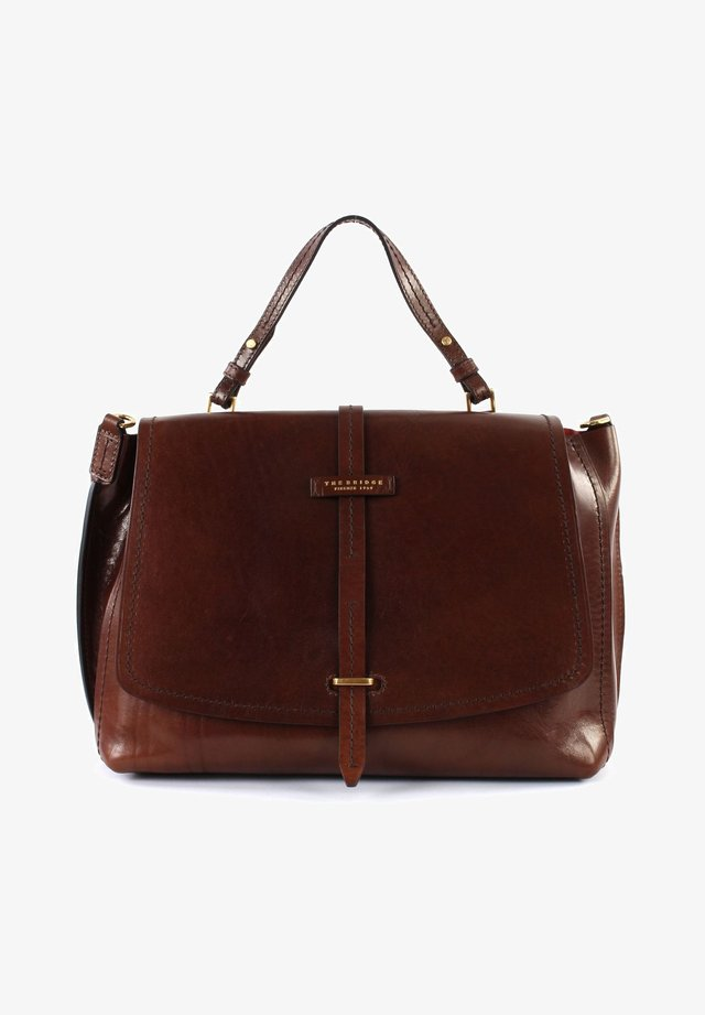 DALSTON DOUBLE FUNCTION - Across body bag - marron​e