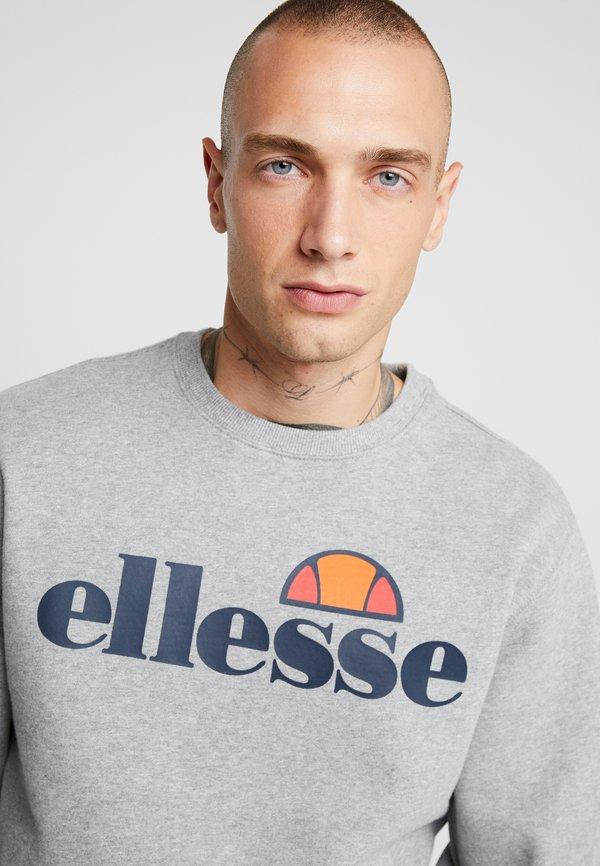 Ellesse SUCCISO - Bluza - grey marl/szary Odzież Męska QSAO