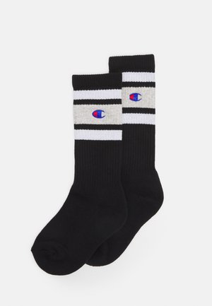 CREW 2 PACK UNISEX - Sports socks - black