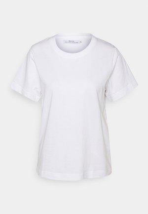 MYSEN BASE  - Basic T-shirt - white