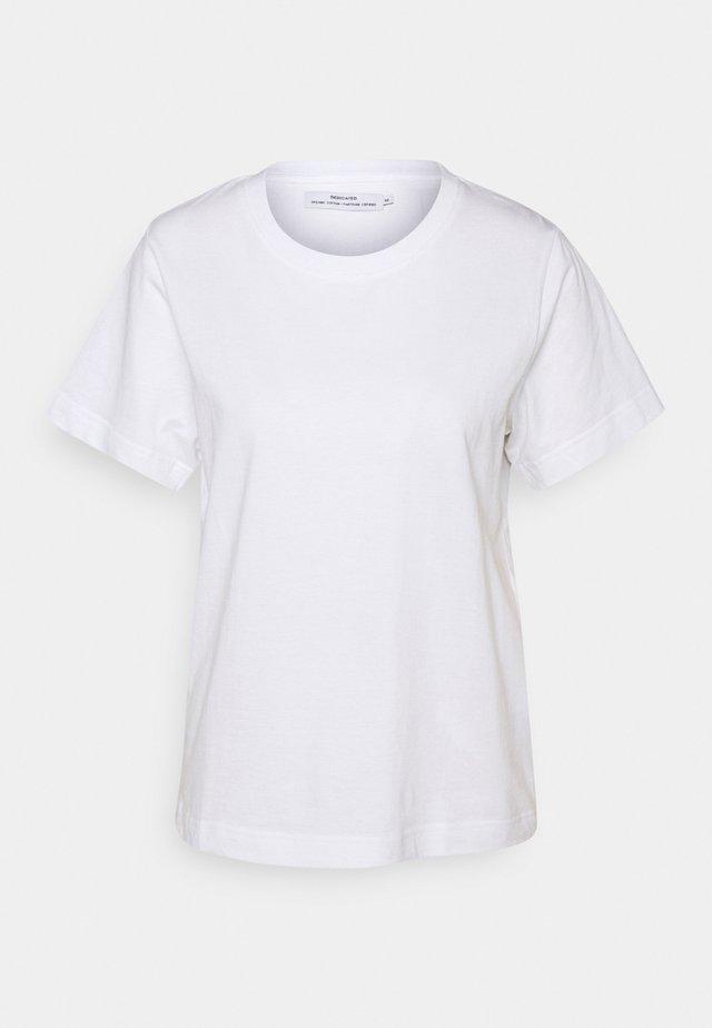 MYSEN BASE  - T-paita - white